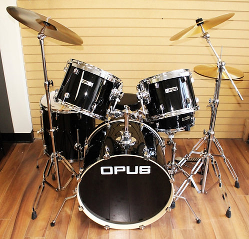 5 Piece Drum Kit With Pure Brass Cymbals