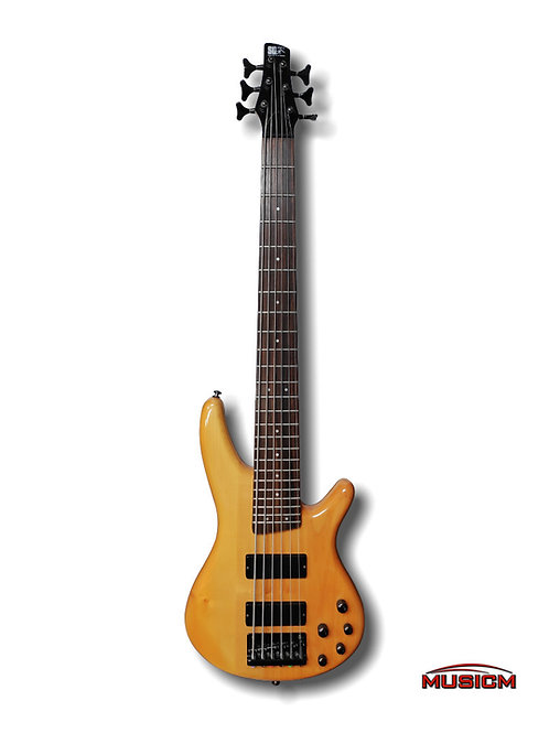 Ibanez 6-String Bass Guitar (Refurbished)