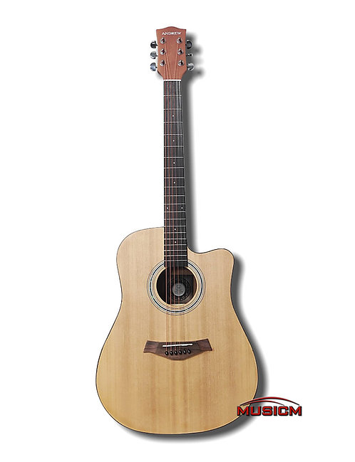 """41"""" Andrew Acoustic Guitar"""