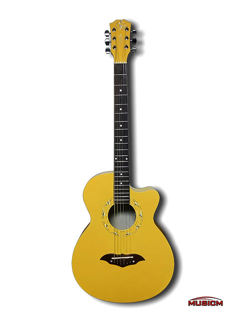 RC Acoustic Guitar Thin Body Yellow