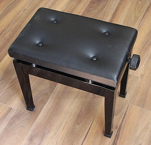 Adjustable Piano Bench Refurbished Made in Japan