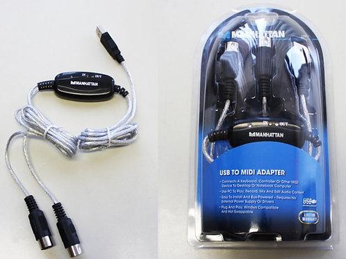USB to MIDI Adapter