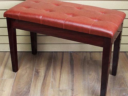Piano Bench with book storage Cherry Brand New