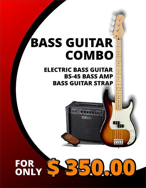 Electric Bass Guitar Combo