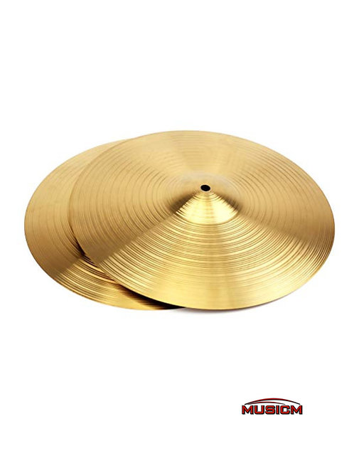 "14"" Hi-Hat Brass Cymbals (Pair)"