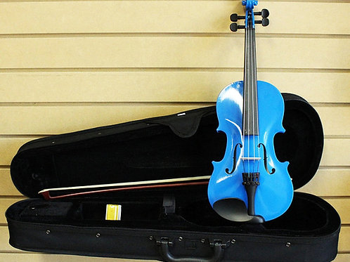 Light Blue Violin Size 3/4