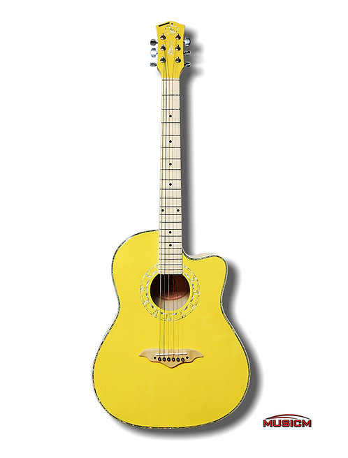 RC Acoustic Guitar Yellow