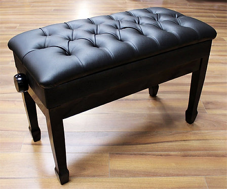 Adjustable Concert Piano Bench with Book Storage Brand New
