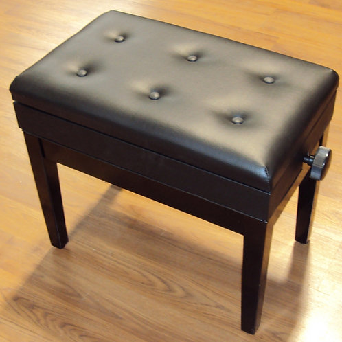 Adjustable Piano Bench with Book Storage Brand New