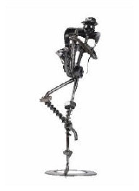 Man in Saxophone