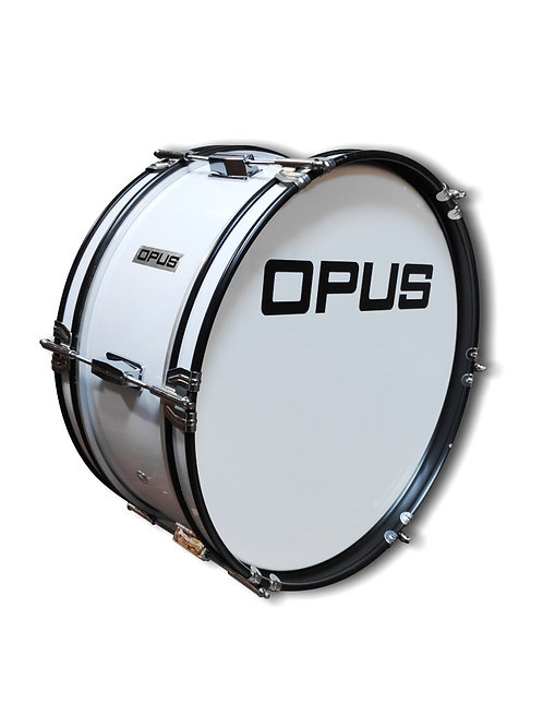 Marching Drum White
