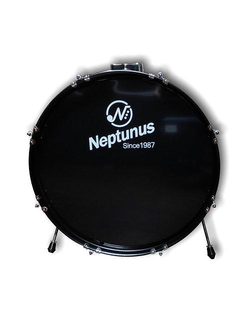 Neptunus Bass Drum - 22 x 16 Black