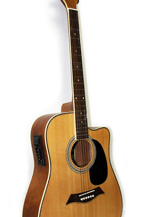 LILIESPNM-EQ Acoustic Electric Guitar