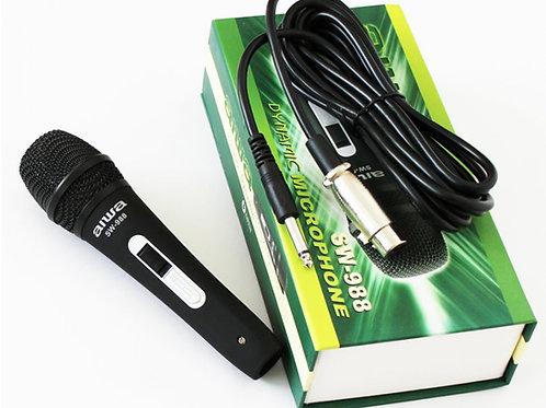 Dynamic Professional Microphone AIWA SW988