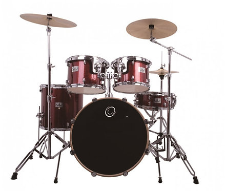 5 Pieces Drum Kit with Pure Brass Cymbals
