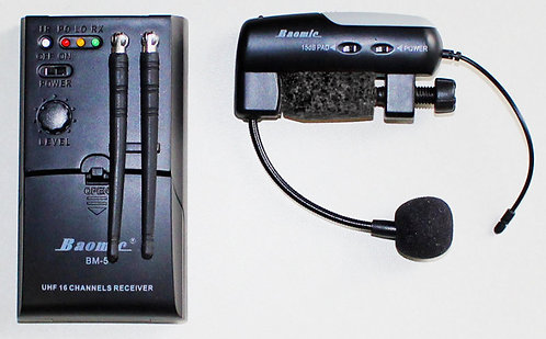 Wireless Saxophone Transmitter