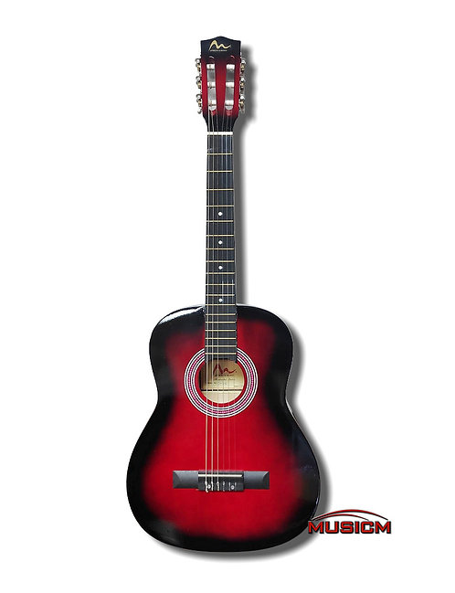 "36"" Classical Guitar Red"