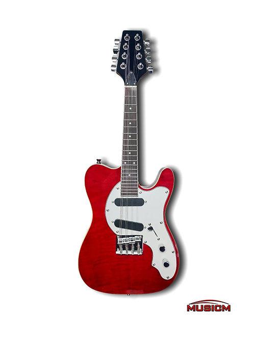 Electric Mandolin Red