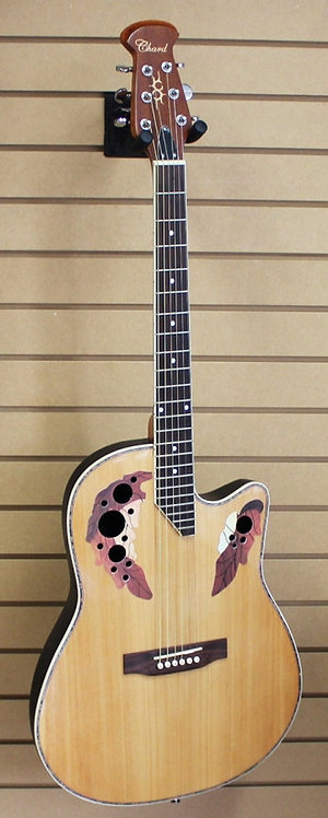 Chord Acoustic Electric Guitar Natural