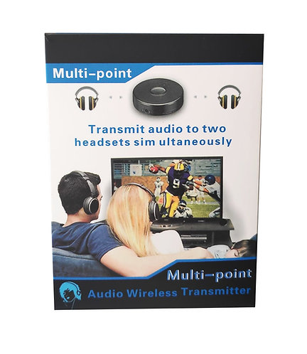 Multi-Point Audio Wireless Transmitter