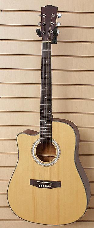 Left Handed Acoustic Guitar