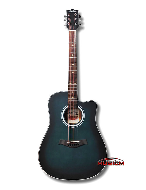 LT-D18 Acoustic Guitar Green Burst
