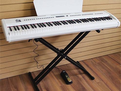 Digital Piano 88 Gradually Weighted Keys P-65 X-Stand Brand New