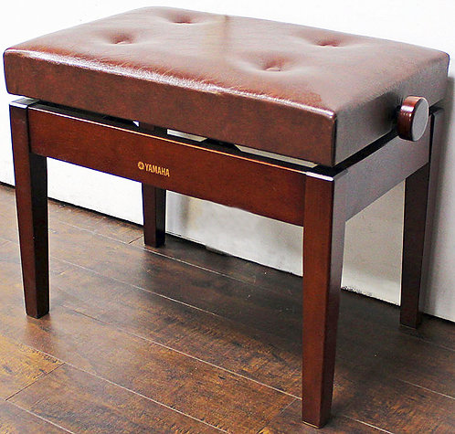 Yamaha Adjustable Piano Bench Mahogany
