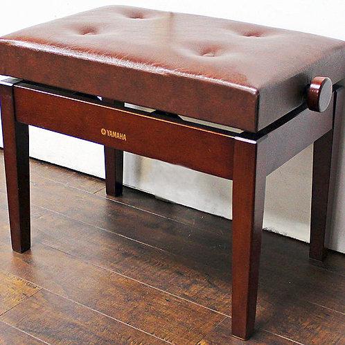 Yamaha Adjustable Piano Bench Mahogany