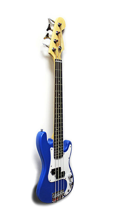 Junior Electric Bass Guitar Blue