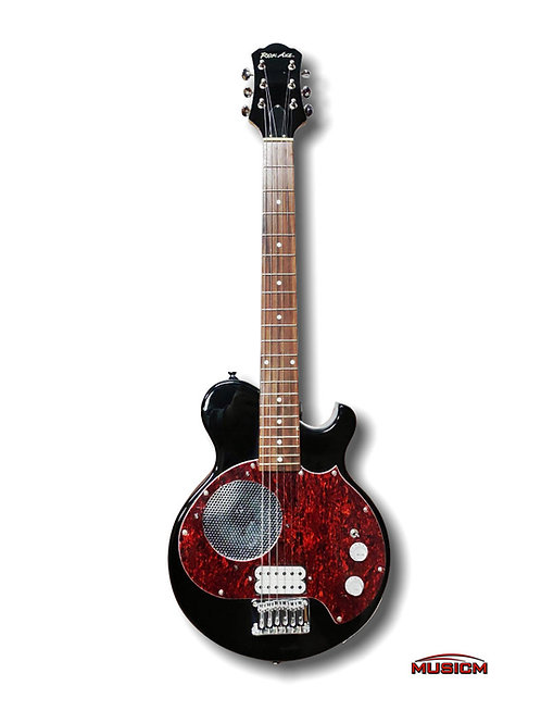 Electric Guitar with Built-in Amplifier