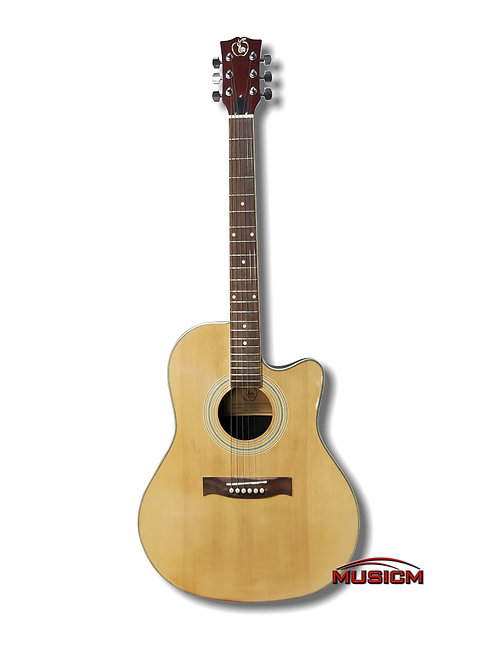 Roundback Slim Body Acoustic Guitar