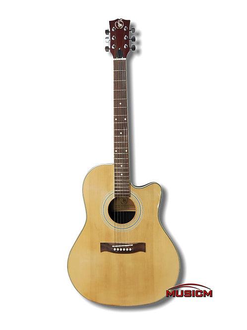 Roundback Slim Body Acoustic Guitar