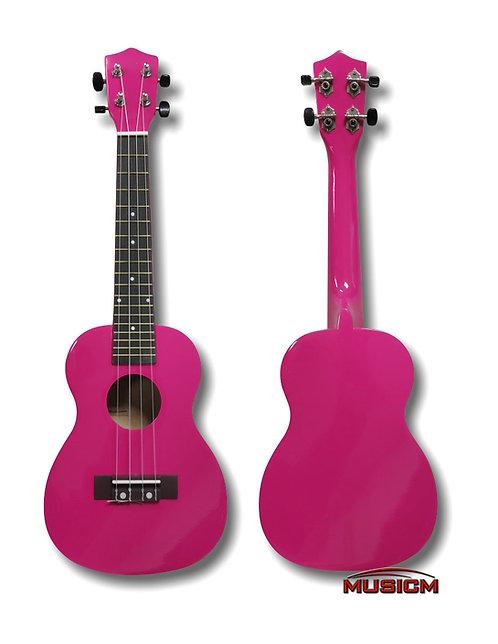 Ukulele Fuchsia Pink