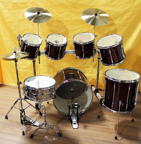 7-piece Drum Kit with Hardware