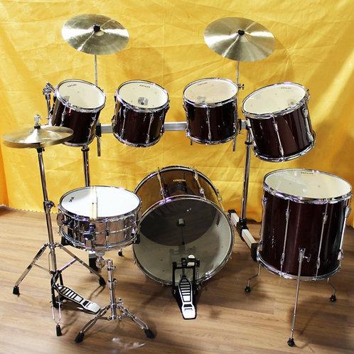 7-piece Drum Kit with Hardware