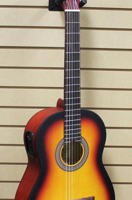 Aria Classical Guitar KM3901-SB/EQ