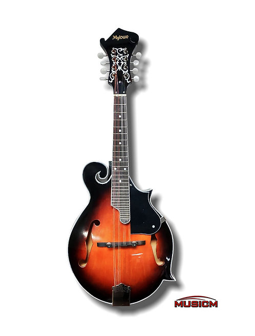 F-Shape Mandolin Sunburst