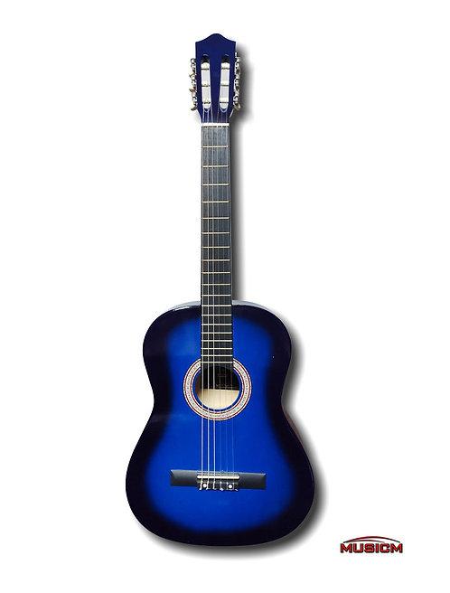 """Stiller Classical Guitar 39"""" Blue"""