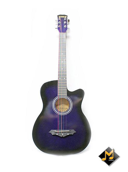 """Acoustic Guitar 38"""" Purple"""