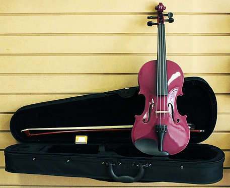Purple Violin 3/4 Size