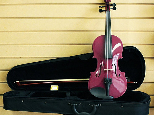 Purple Violin 4/4 Size