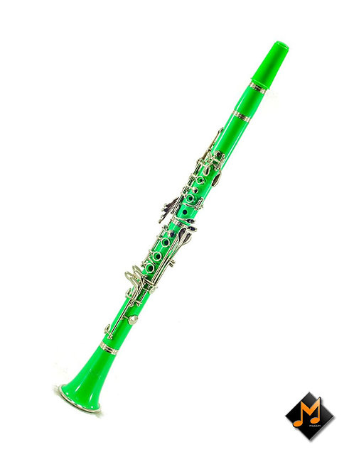 JXCL107 Clarinet Green