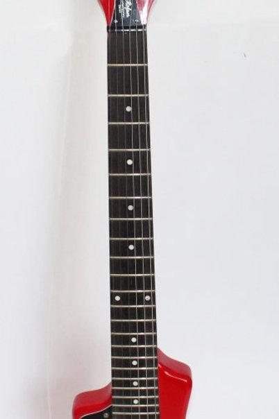 Lefty Hofner Portable Electric Guitar Red