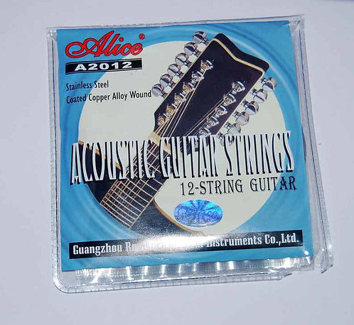 A2012 12-String Acoustic Guitar Strings
