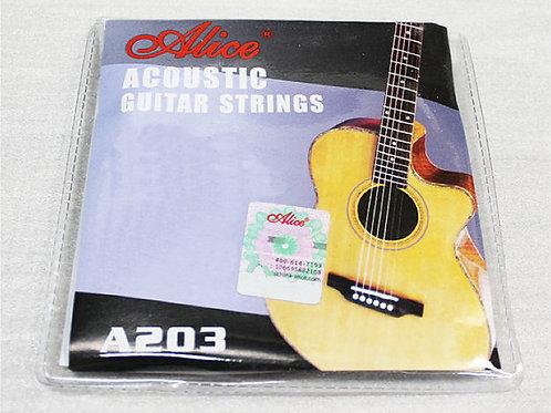 Acoustic Guitar Strings .011-.052