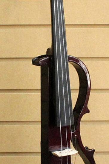 Electric Silent Violin Maroon
