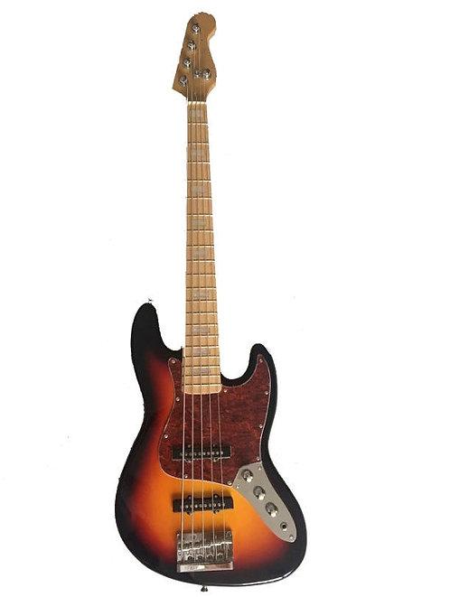 5-String Electric Bass Guitar