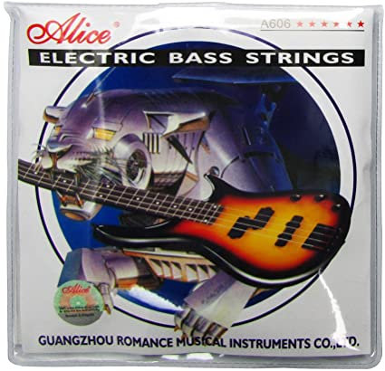 Electric Bass Guitar Strings
