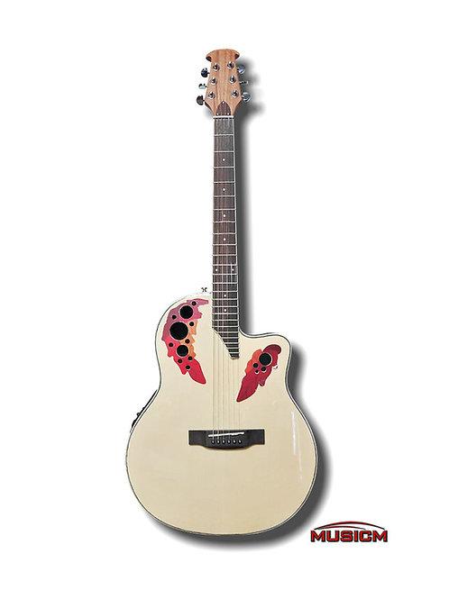 Roundback Electric Acoustic Guitar NT EQ